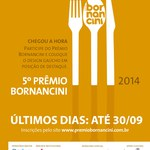 Estudantes podem se inscrever em Prêmio Bornancini em Design