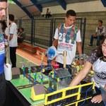 Estudantes alagoanos da educação básica apresentam projetos robóticos na SBPC Jovem