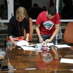 DCE recebe chave de espaço físico para sede no Campus A.C Simões