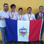 Equipe de Xadrez da Ufal conquista medalha de bronze nos JUFs