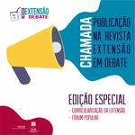 Proex lança editais para edições especiais da revista Extensão em Debate