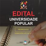 Proex prorroga período de submissões para o edital Universidade Popular