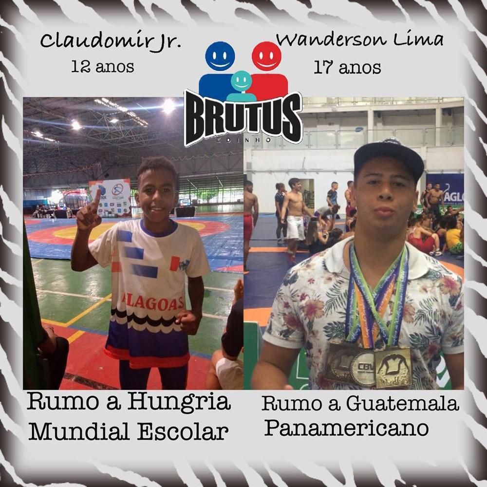 Atletas do projeto que vão participar das próximas competições internacionais