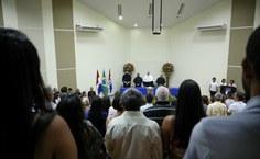 Esta foi primeira cerimônia conduzida pelo novo reitor da Ufal, Josealdo Tonholo