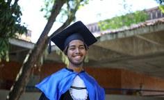 """Eduardo Monteiro: """"Sou o primeiro da família a ter um curso superior"""""""