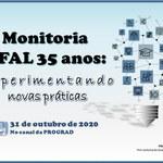Prograd celebra os 35 anos do Programa de Monitoria da Ufal