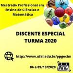 Mestrado em ensino de ciências e matemática inscreve para eletivas
