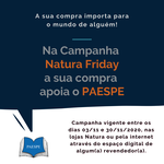 Paespe é um dos projetos beneficiados pela campanha Natura Friday.