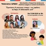 Grupo de Pesquisa debate educação infantil em Alagoas na pandemia