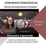 Ensino da Astronomia é tema de debate nesta quinta (24), inscreva-se