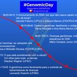 Evento GenomicDay 2020 será realizado nesta sexta-feira