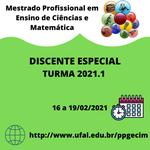 Pós-graduação em Ensino de Ciências e Matemática oferta disciplinas eletivas
