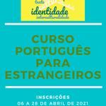 Inscrições abertas em curso de português para estrangeiros