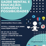 Oficinas do Centro de Educação debatem Saúde Mental e Educação