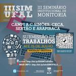 Submissão de trabalhos para Seminário de Monitoria vai até 15 de julho