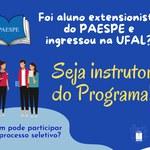 Paespe está com inscrições abertas para novos instrutores até dia 28