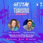 Tiago Mondo e Joice Lavandoski participam de evento sobre Turismo