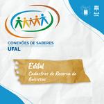 Ufal lança editais para cadastro de reserva de bolsistas do Conexões