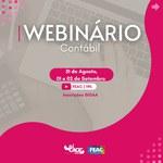 Começa nesta terça-feira Webinário Contábil sobre Vivência do Futuro Contador