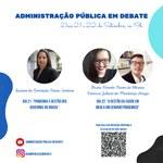 Gestão e pandemia em pauta no projeto Administração em Debate