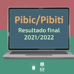 Pró-reitoria de Pesquisa divulga resultado do Pibic e do Pibiti 2021-2022