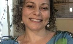 Professora Fabiana, idealizadora do projeto