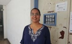 Ana Vergner, presidente da Associação dos Docentes da Ufal. Foto: Lenilda Luna