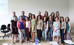 Participantes do curso de assistência ao estudante universitário