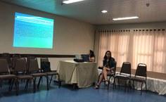 Manuella Aragão coordenou oficina dentro do evento.