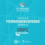 SBPC Educação libera novas vagas para inscrições de servidores