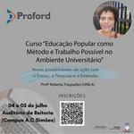 Proford oferta curso de formação em metodologia para o ensino superior