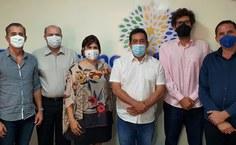 Visita ocorreu na terça-feira (13) em Arapiraca, no gabinete do parlamentar