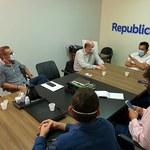 Equipe da administração central visita deputado Severino Pessoa