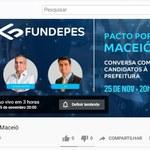 Pacto por Maceió realiza rodada de perguntas com candidatos à Prefeitura