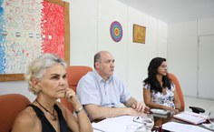 Marília Goular (à esq.), coordenadora da força-tarefa, reforçou que o grupo está trabalhando para dar as informações e as possibilidades de resolução que a população anseia