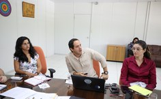 Professor Emerson Soares, da equipe da força-tarefa do óleo da Ufal