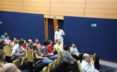 Reinaldo Cabral também apresentou à equipe do NTI resultado de pesquisa de satisfação