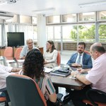 Reitor recebe presidente da OAB/AL para traçar futuras parcerias