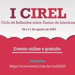 Cirel virtual traz palestras e reflexões sobre ensino de Literatura