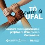 """""""Tô com a Ufal"""": Campanha do MPF busca financiar ações de combate à covid-19"""