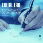 Abertas inscrições para cadastro de professores bolsistas em cursos EaD