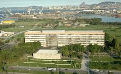 Foto aérea do prédio da Reitoria da UFRJ. Foto Fábio Portugal (acervo)
