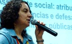 Rosa Prédes, professora da Faculdade de Serviço Social. Foto: Reprodução