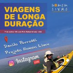 Professor da Ufal promove bate-papo sobre Viagens de Longa Duração