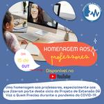 Projeto de extensão lança vídeo para homenagear professores
