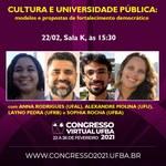 Produtora cultural da Ufal participa de Congresso Virtual da UFBA