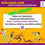 Encontro virtual do Projeto Diálogos.com será em dois dias: 20 e 29 de abril