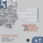 Jornada de ética e filosofia debate mulheres e política em evento virtual