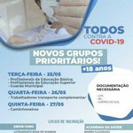Campus do Sertão inicia vacinação dos profissionais da educação contra covid-19