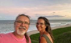 Mario e Simoni Meneghetti, parceiros na vida pessoal e acadêmica
